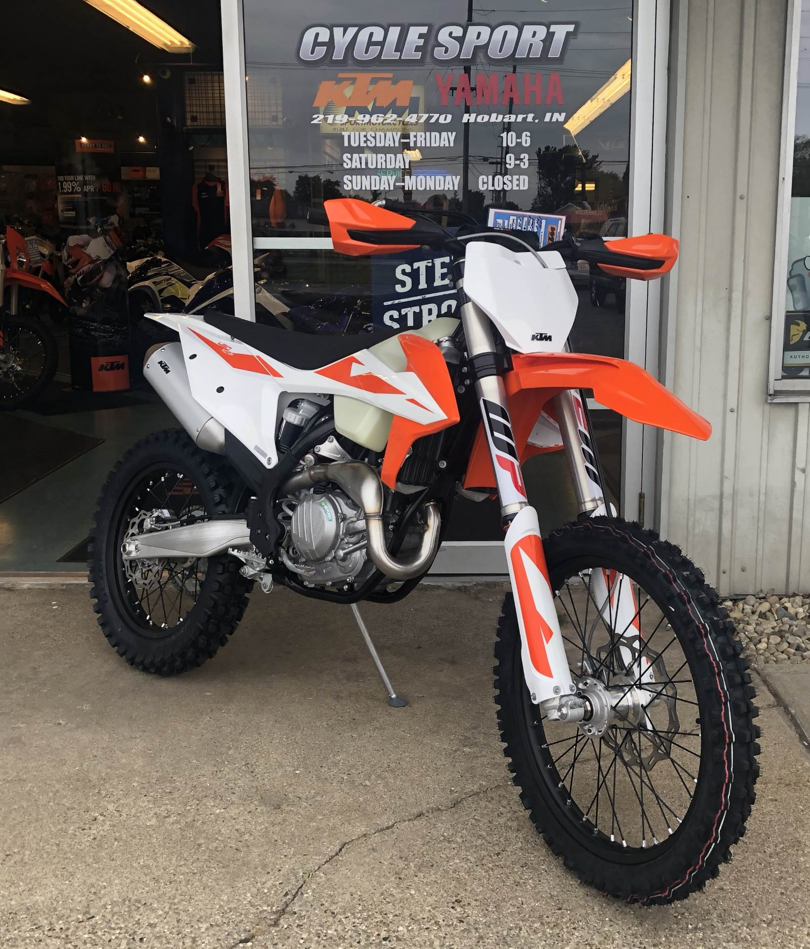 hight resolution of 2019 ktm 450 xc f in hobart indiana photo 1