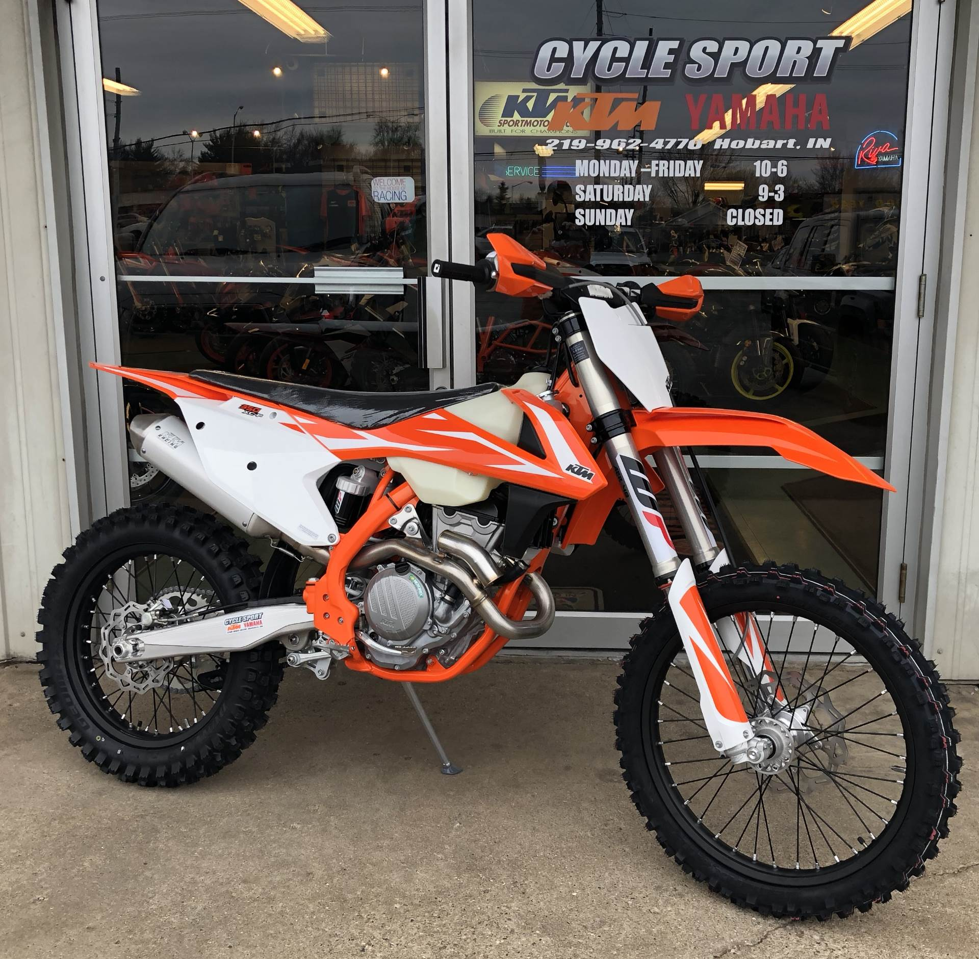 hight resolution of 2018 ktm 350 xc f in hobart indiana photo 1