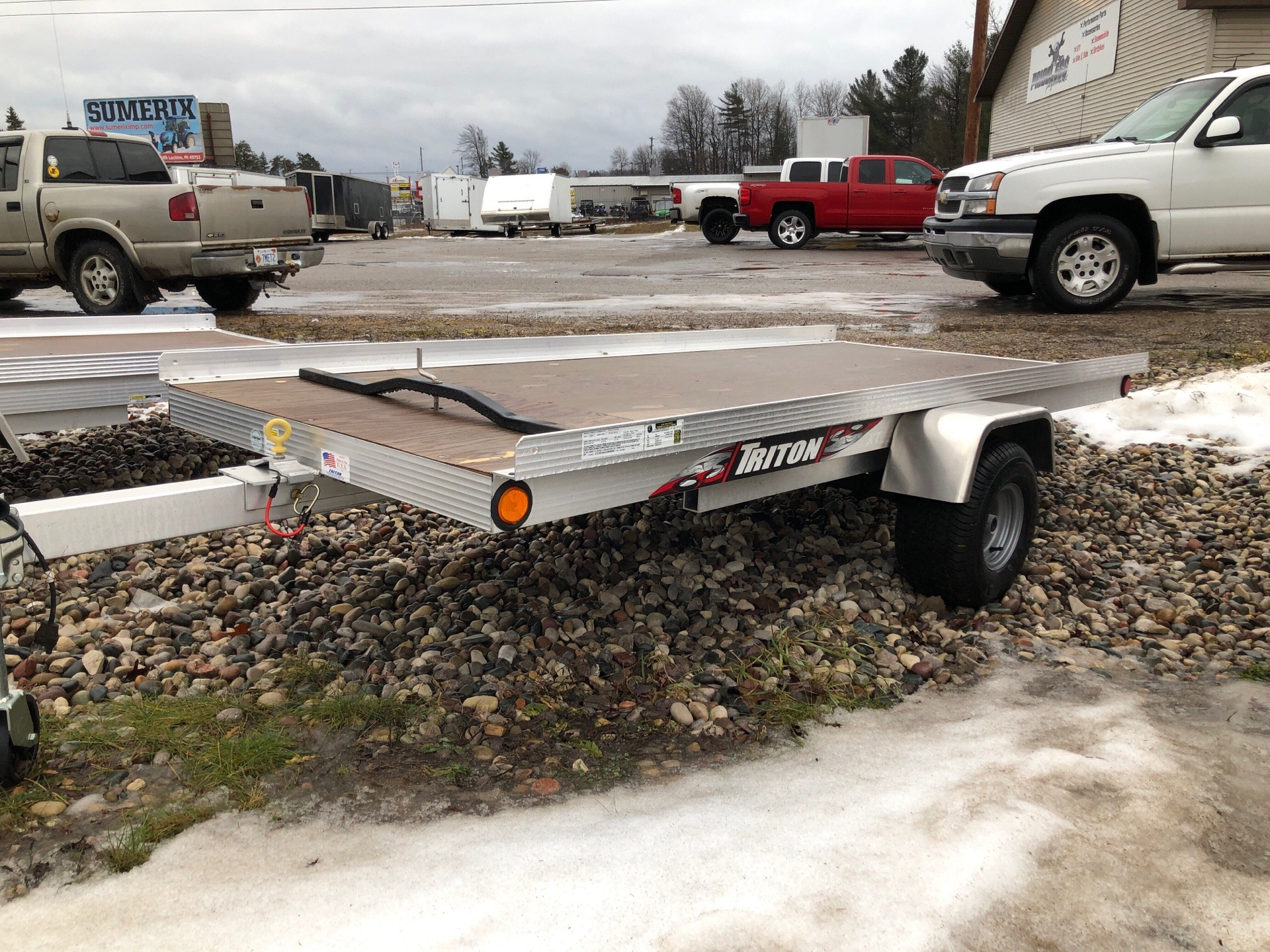 hight resolution of 2018 triton trailers xt4 5 in gaylord michigan photo 1