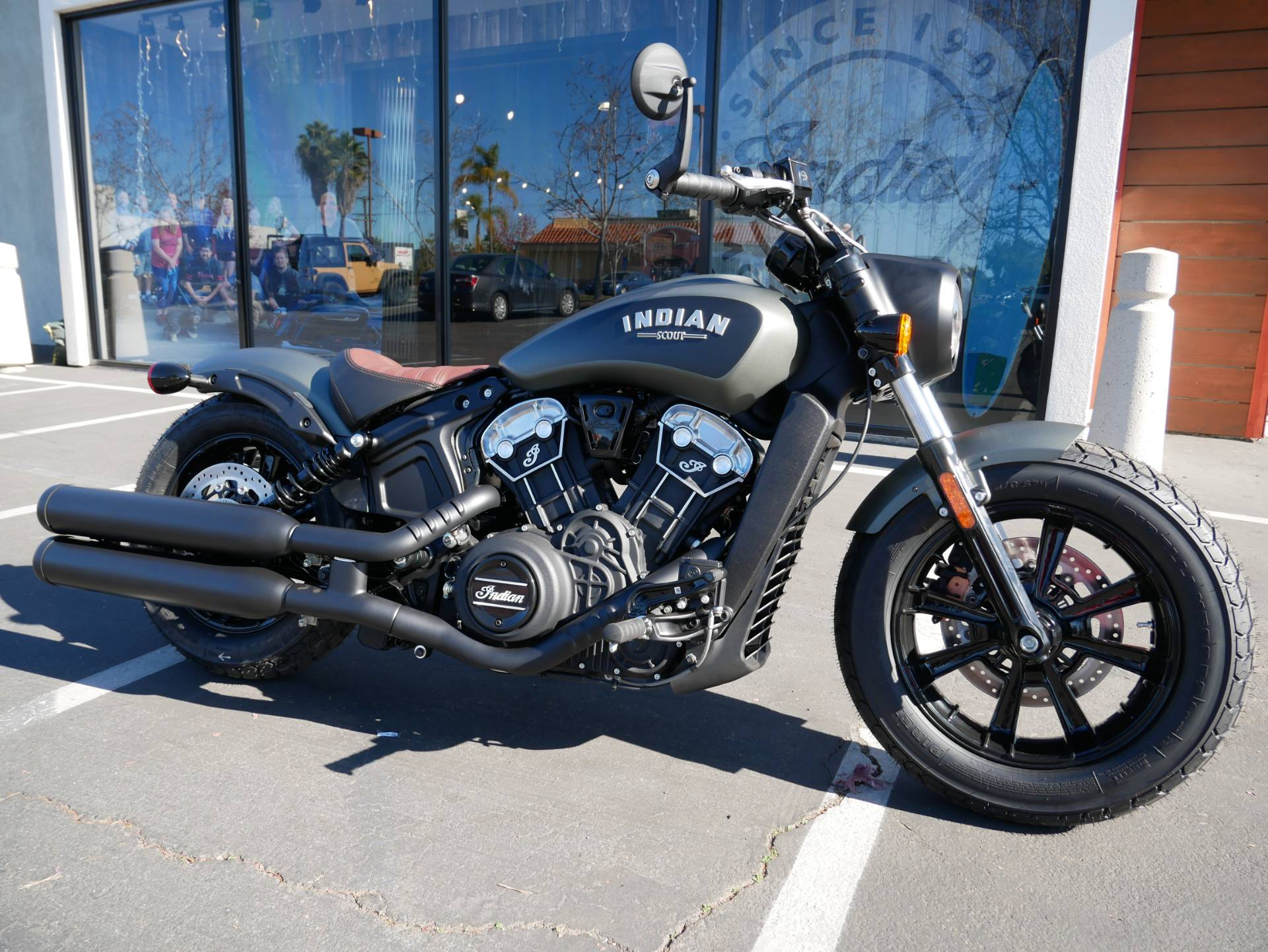 2021 indian scout bobber abs in san diego california