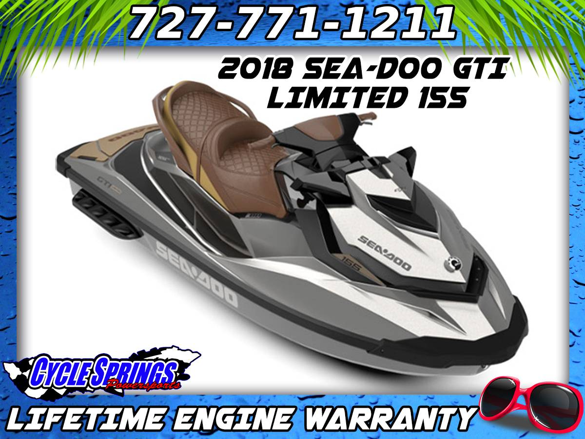 hight resolution of 2018 sea doo gti limited 155 in clearwater florida photo 1