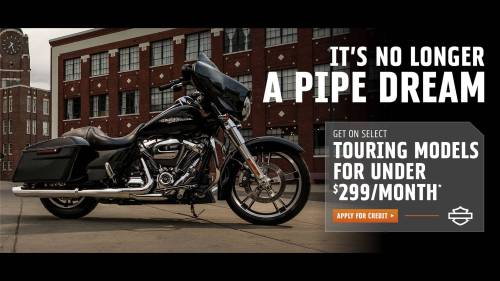 small resolution of harley davidson get on select touring models for under 299 per month