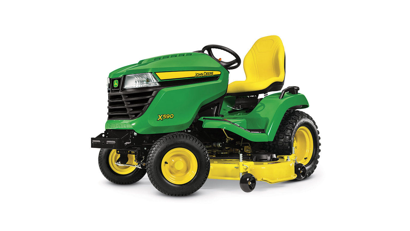 hight resolution of 2017 john deere x590 lawn tractor with 54 in deck in terre haute indiana