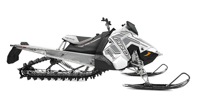 2020 Polaris 800 PRO-RMK 155 SC 3 in. Snowmobiles Hailey