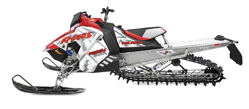 New 2020 Polaris 800 RMK Khaos 155 SC Snowmobiles in Rapid