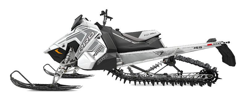 New 2020 Polaris 850 PRO-RMK 155 SC 3 in. Snowmobiles in