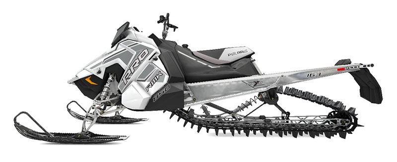 New 2020 Polaris 850 PRO-RMK 163 SC 3 in. Snowmobiles in