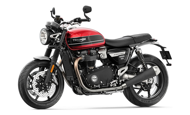 New 2021 Triumph Speed Twin Motorcycles for Sale in Norfolk. VA - SunriseCycle.com