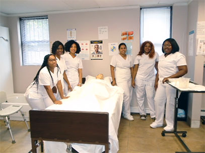 King Highway Special Touch Home Care workers in training