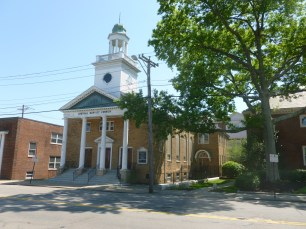 CDRC volunteers created a needs assessment analysis for this Quincy church and school to support their application for historic preservation grant funding., 2010
