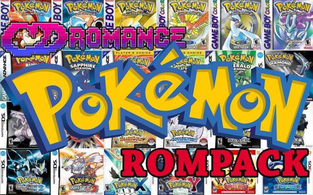 Download all (34) Pokemon games ROMS