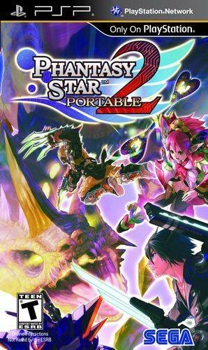 The coverart image of Phantasy Star Portable 2