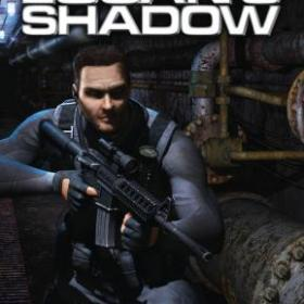 The cover art of the game Syphon Filter: Logan's Shadow.
