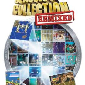 The cover art of the game Capcom Classics Collection Remixed.
