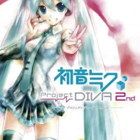 The cover art of the game Hatsune Miku: Project Diva 2nd.