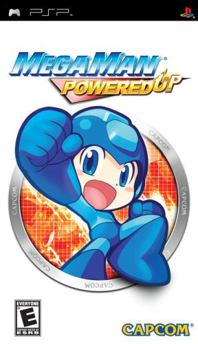 The coverart image of Mega Man: Powered Up