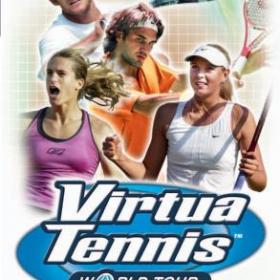The cover art of the game Virtua Tennis: World Tour.