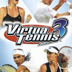 The cover art of the game Virtua Tennis 3.