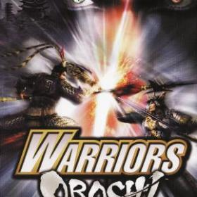 The cover art of the game Warriors Orochi.