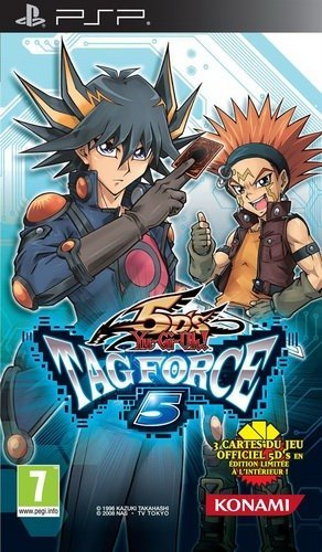 The coverart image of Yu-Gi-Oh! 5D's Tag Force 5