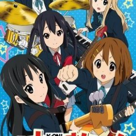 The cover art of the game K-ON! Houkago Live!!.