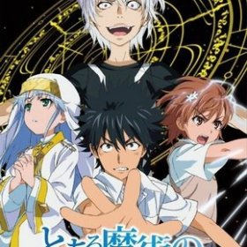 The cover art of the game Toaru Majutsu no Index.