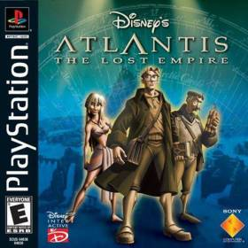 The cover art of the game Disney's Atlantis: The Lost Empire.