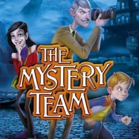 The cover art of the game The Mystery Team.