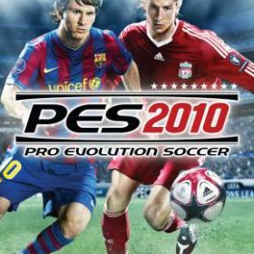 The cover art of the game Pro Evolution Soccer 2010.