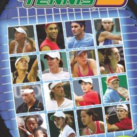 The cover art of the game Smash Court Tennis 3.