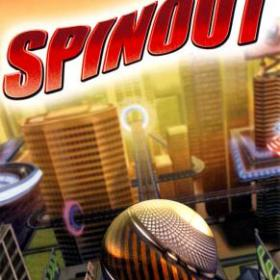The cover art of the game Spinout.