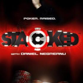 The cover art of the game Stacked with Daniel Negreanu.