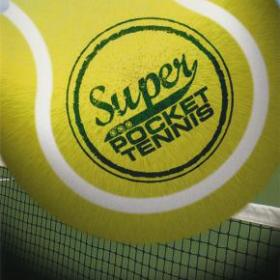 The cover art of the game Super Pocket Tennis.