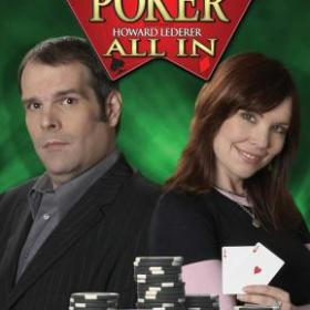 The cover art of the game World Championship Poker featuring Howard Lederer - All In.