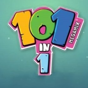 The cover art of the game 101-in-1 Megamix.