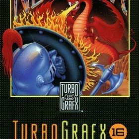 The cover art of the game Neutopia (TurboGrafx-16 Classic).