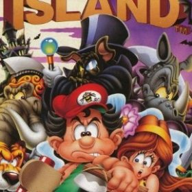 The cover art of the game New Adventure Island (TurboGrafx-16 Classic).