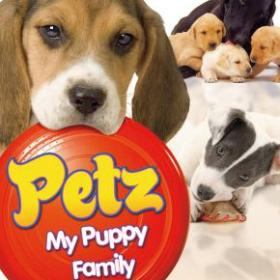 The cover art of the game Petz: My Puppy Family.