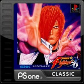 The cover art of the game The King of Fighters '96.