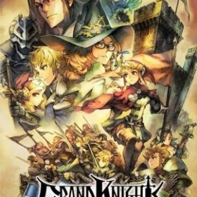 The cover art of the game Grand Knights History (English Patched).