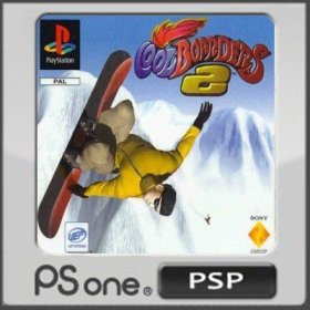 The cover art of the game Cool Boarders 2.
