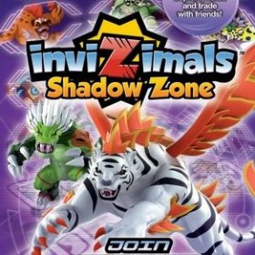 The cover art of the game inviZimals: Shadow Zone.