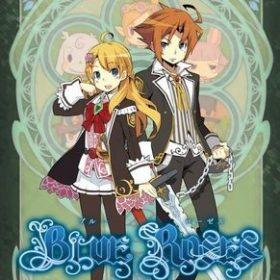 The cover art of the game Blue Roses: Yousei to Aoi Hitomi no Senshitachi.