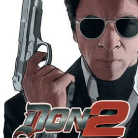 The cover art of the game DON 2: The Game.
