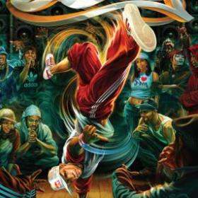 The cover art of the game B-Boy.