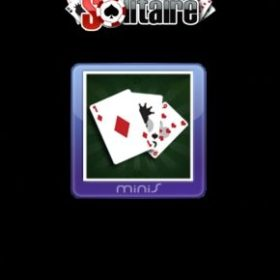 The cover art of the game Solitaire.