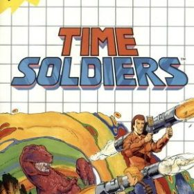The cover art of the game Time Soldiers.