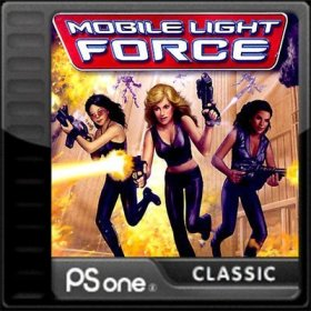 The cover art of the game Mobile Light Force.
