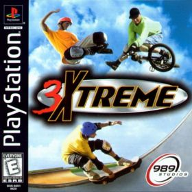 The cover art of the game 3Xtreme.