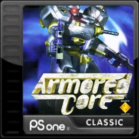 The cover art of the game Armored Core.